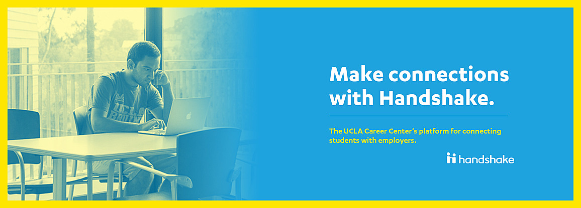Make connections with Handshake. Career Centers' platform for connecting students with employers.