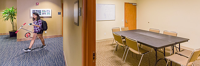 De Neve Commons meeting room