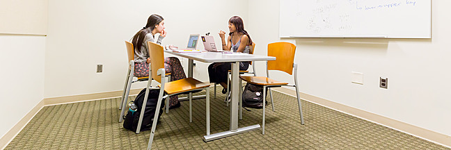 Hedrick Hall study room