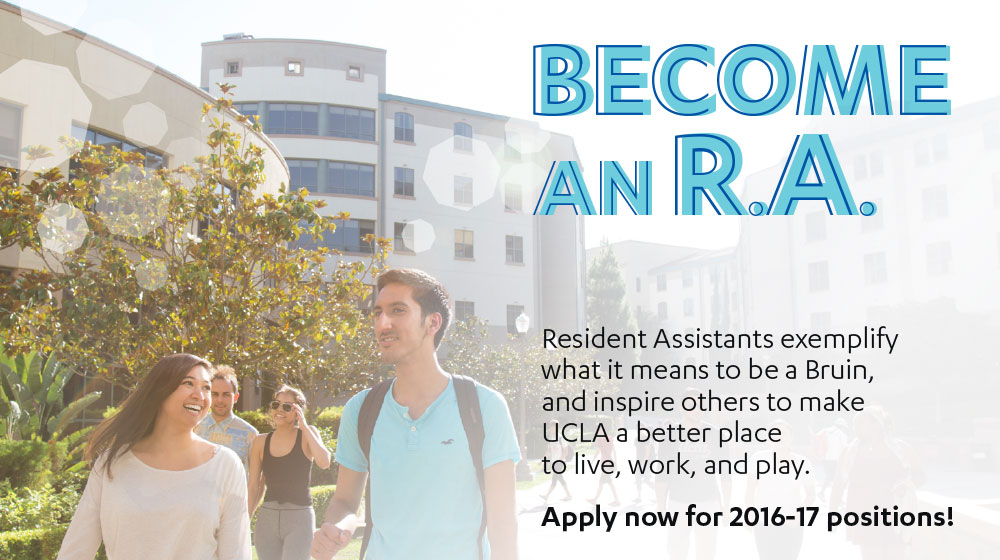 Become an RA: Apply Now for 2016-16 positions!